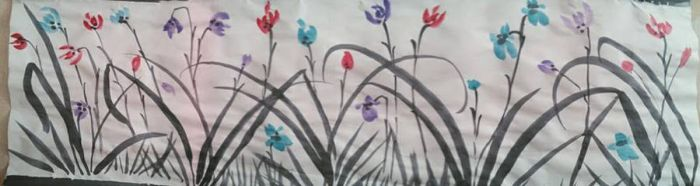 Orchid panel by Ruthsic