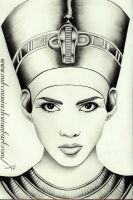 Queen Nefertiti by Mutemouia