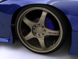 Nismo LMGT4 Wheels by Legacy-Of-Phoenix
