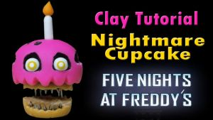 Nightmare Cupcake (Check Video Tutorial :D!) by CraftDragons