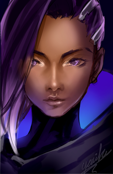 Sombra doodle by yuuike