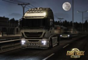 ETS 2 Iveco Highway truck by mmirkovic
