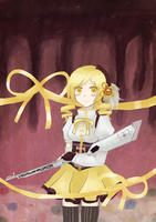 Magical Girl Mami Magica (redrawn) by Frogberri