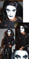 Eric Draven The Crow ooak ken by DivinityNemesis
