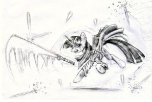 Jedi Master Twilight sparkle by metalfoxxx