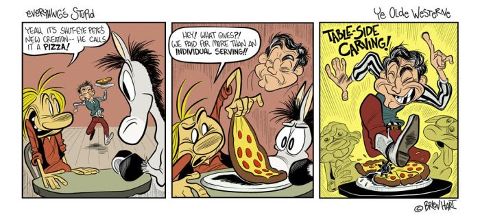 Everything's Stupid comic - Piece of the Pie by brien-likes-cartoons