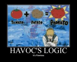 FMA Demotivational: Havoc's Logic by Angel-of-Alchemy-42