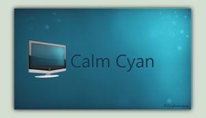 Calm Cyan by Seahorsepip