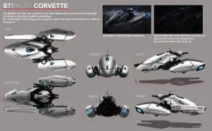 Stealth Corvette by Chavito34