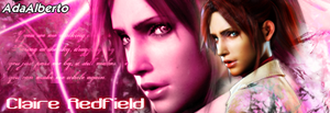 Claire Redfield Firma by AdaAlberto