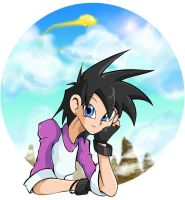 ::Cartoon Heroes: Videl:: by Turboman