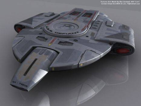 USS Defiant - Finished by lint77