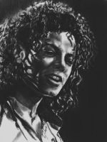 MJ - Shadows and Curls by CezLeo