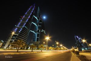 my shot in Bahrain by BinAmin