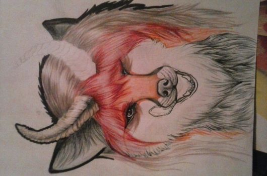 Work in progress. Commsion for a friend by VanicFox