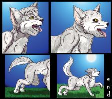 Old Werewolf TF Sequence -Part 3- by TimidTabby84