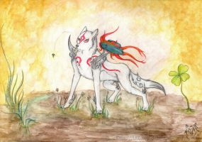 Amaterasu by LKE-Kola
