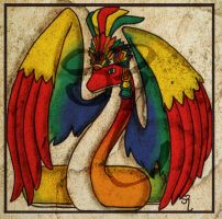 Q is for Quetzalcoatl by PlaidTidings