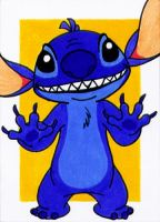 ACEO - Stitch by Goldy--Gry