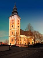 The village church of Sankt Peter am Wimberg III by patrickjobst
