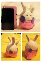 Shiny Goomy Plush by buttsnstuff