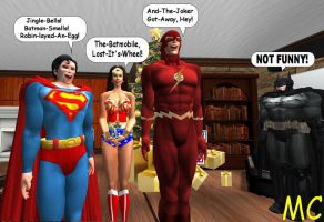 The JLA Sings Christmas Carols by The-Mind-Controller