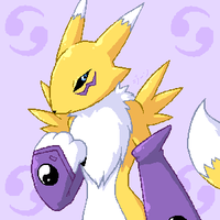 Renamon by stardroidjean