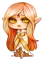 Serenity - Chibi Commission by clover-teapot