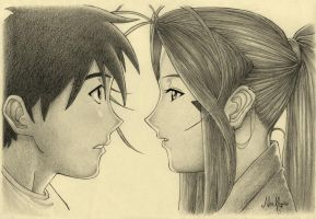 Keiichi e Belldandy by FreePlayer4