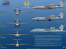 Beriev A-40 (Be-42) Albatross / Mermaid - Part 2 by haryopanji