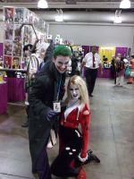Joker and Harley by Wolfwood2