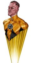 Hologram Series - Yellow Lantern Sinestro by No-Sign-of-Sanity