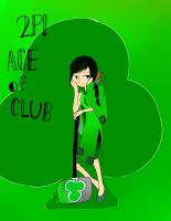 2P!APH Ace of Club by pallaza
