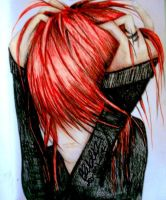 Red Head by Beth-Gilbert