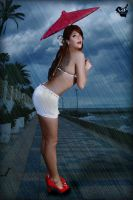rainy day by VintageImagery