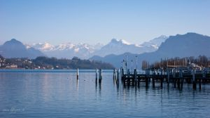 Alps Panorama by pinguinette