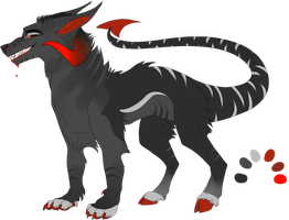 Demon Wolf   Auction 1   Closed by RagingConflagration