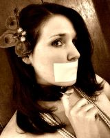 Glamour Gagged by FearForTheFlesh