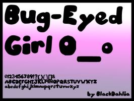 Bug-Eyed Girl by blackdahlia