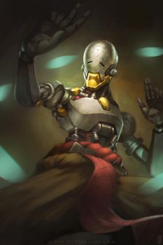 Overwatch - Zenyatta by alben