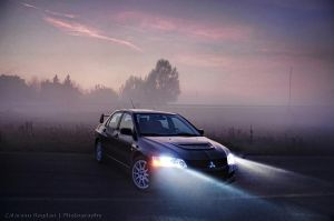 EVO 8 - Purple Fog HDR by HDRenesys