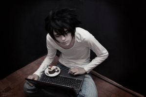 Death Note - L suspects you by Krisild