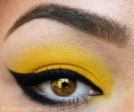 Buttercup Golden Eye by NaturallyErratic