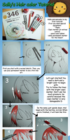 Hair tutorial copic marker by Sally78
