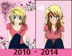 Sister Improvement picture 2010-2014 by Beastwithaddittude
