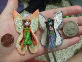 Toothpick Faeries by FayOffspring