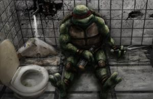 Middle Aged Mutant Ninja Turtle by Nickatnite