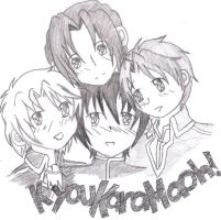 Kyou Kara Maoh by Songstress-of-ZAFT
