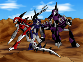 The Dark Lizards by Saronicle