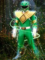 Green Power Ranger V2.0 by DesignsByTopher